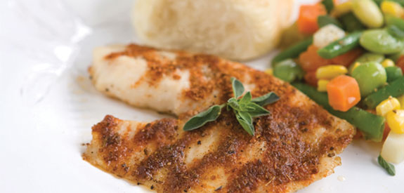 Broiled Tilapia